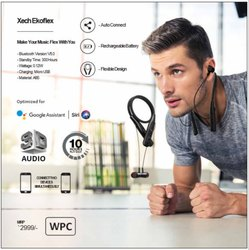 Xech Wireless Bluetooth Earphones EKO Flex In-Ear Neckband