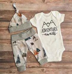 Girl & Boy Stylish Baby wear_100% Cotton_Age 0 to 1 year