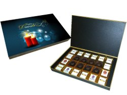 Brown Unique Chocolate Diwali Gift, For Gifts
