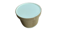 600ml Ripple Container With Lid