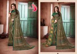 Printed Pashmina Saree