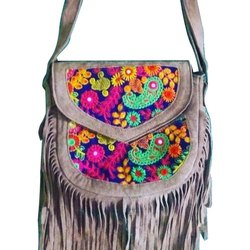 Leather Womens Adjustable Sling Bag
