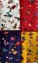 Fancy Printed Rayon Ladies Suit Fabric, 100-150