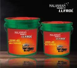 Malashian 20W40 Superb Plus Engine Oil, Packaging Type: Bucket