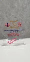 Printed Acrylic Trophy Momento