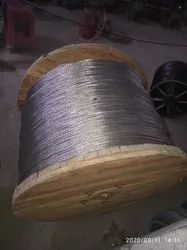 Aluminium Round 80 Sq Mm ACSR Racoon Conductor, For Overhead