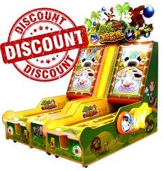 Animal Bowling Arcade Game Machine - 2 Players