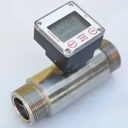 Digital Turbine Type Flow Meter(SS/PVC)