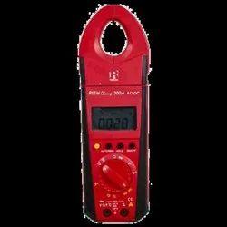 300 A AC/DC Rishabh Rish Clamp Meter