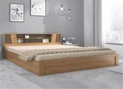 Particle Board Brown Bed, For Home, Size: 6 x 6