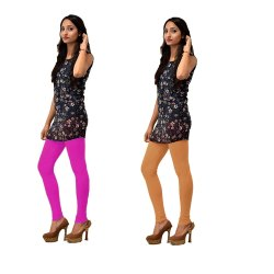 Plain Humaira Cotton Lycra Leggings, Size: M-XXL