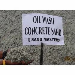 Gray Oil Wash Concrete M Sand, Packaging Size: 20 Ton, Packaging Type: Truck