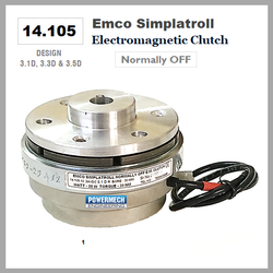 14.105 Type Shaft Mounted Emco Simplatroll Electromagnetic Clutch