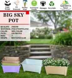 Big Sky Pot -7 Rectangular