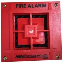 Red PVC Fire Alarm, For Industrial