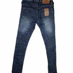 Blue Men Stretchable Denim Jeans