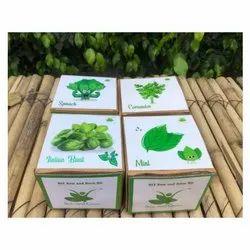 Mint   Coriander   Italian Basil   Spinach Greens Kits