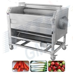 Ginger,Turmeric, Haldi Washing And Peeling Machine