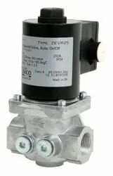 ZEVR Auto ON/OFF Gas Solenoid Valves With Flow Rate Adjuster