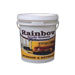High Gloss Rainbow Acrylic Advance Emulsion, For Interior Walls, Packaging Size: 20 Kg