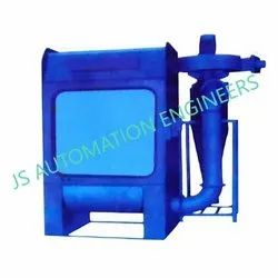 Powder Coating Booth With Cyclone, Cross-Flow Type, Automation Grade: Semi-Automatic