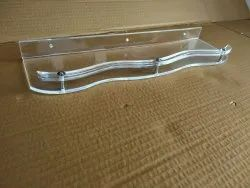 Acrylic S Wall Shelf (18 Inches)