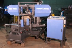 INDOTECH Fully-Automatic Miter Cutting Double Column Band Saw Machine On LM Guides