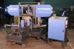 Fully-Automatic Miter Cutting Double Column Band Saw Machine On LM Guides