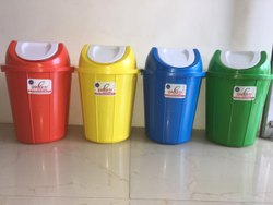 Dharti Dustbin With Swing