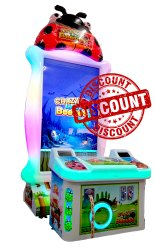 Crazy Beetles Arcade Game Machine