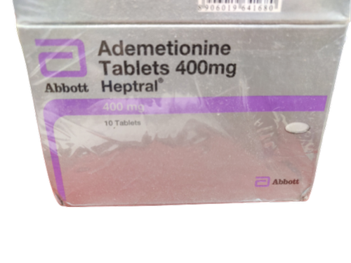 Heptral Ademetionine Tablets 400 Mg Abbott Prescription Rs 299 Box Id 22613953830