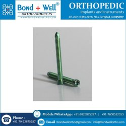 5.0 Mm Orthopedic Implants Locking Screw