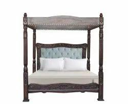 MAH Brown Wooden Bedroom, Size: Cal King