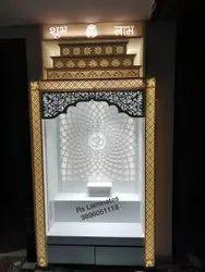 Decorative Corian Mandir