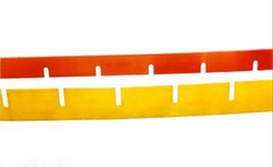 Shreeram Polyplast Yellow, Red PU Wipers, For Industrial, Rectangular