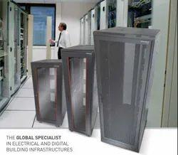 Heavy Duty Aluminum Server Rack Enclosure / Server Cabinet / Network Rack, Model Name/Number: MN-6-10-BT