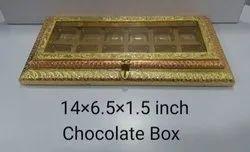 14x6.5x1.5 Inch Wooden Chocolate Box