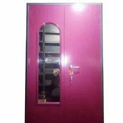 MS Double Door Steel Almirah, For Home