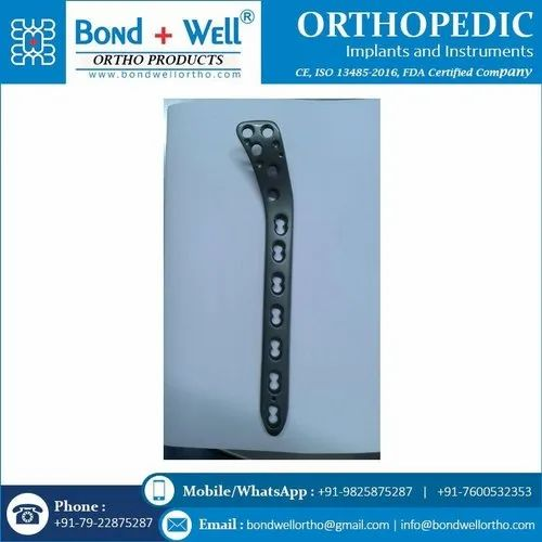Orthopedic Implants Proximal Lateral Tibial Locking Plate