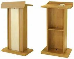 Wooden Plywood Podium