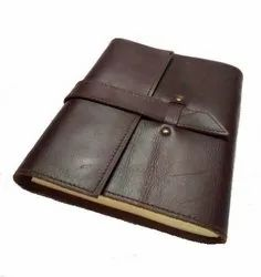 Rustic Buckle Closure Vintage Leather Journal