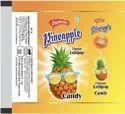 Paawan Round Pineapple Flavoured Lollipop