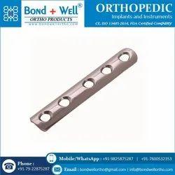 3.5 mm Orthopedic Implants One Third Tubular Plate