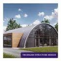 Steel Offline Trussless Structure Designs, In Pan India