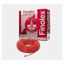 1 Sq Mm Finolex Flame Retardant PVC Insulated Red Cable