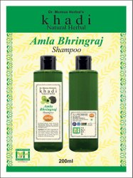 Khadi Natural Herbal Shampoo Amla- Bhringraj
