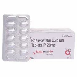 Rosuvastatin Calcium Tablets 20 mg
