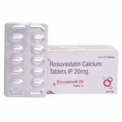 Rosuvastatin Calcium Tablets 20 Mg