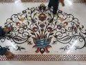 Designer Marble Inlay Flooring