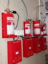 Gas Flooding System In Electrical Panels Industrial Use